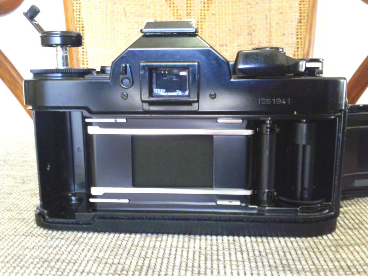 Canon A-1 BK 取扱説明書付き ジャンク品_画像5