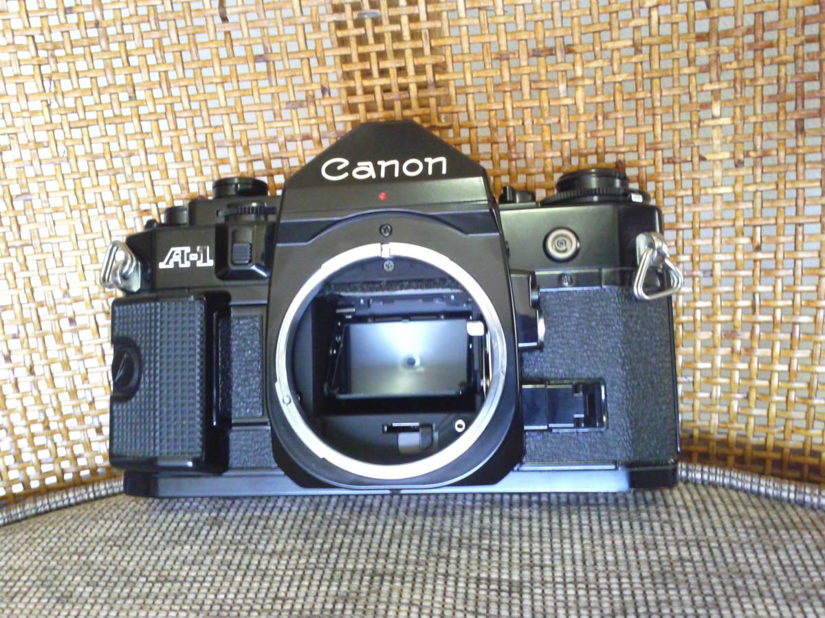 Canon A-1 BK 取扱説明書付き ジャンク品_画像2