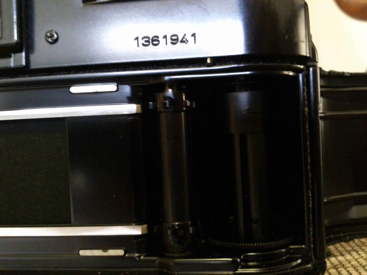 Canon A-1 BK 取扱説明書付き ジャンク品_画像6