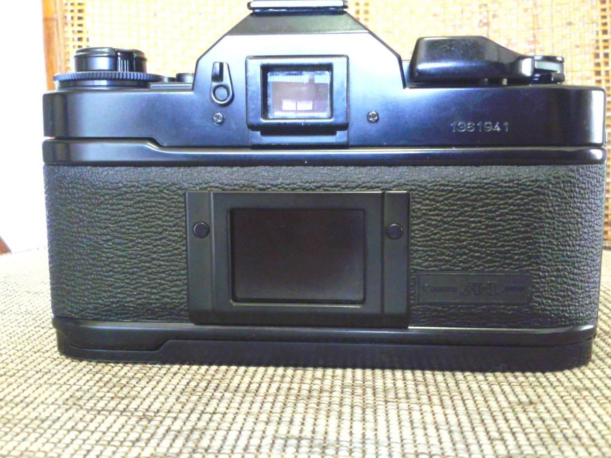 Canon A-1 BK 取扱説明書付き ジャンク品_画像4