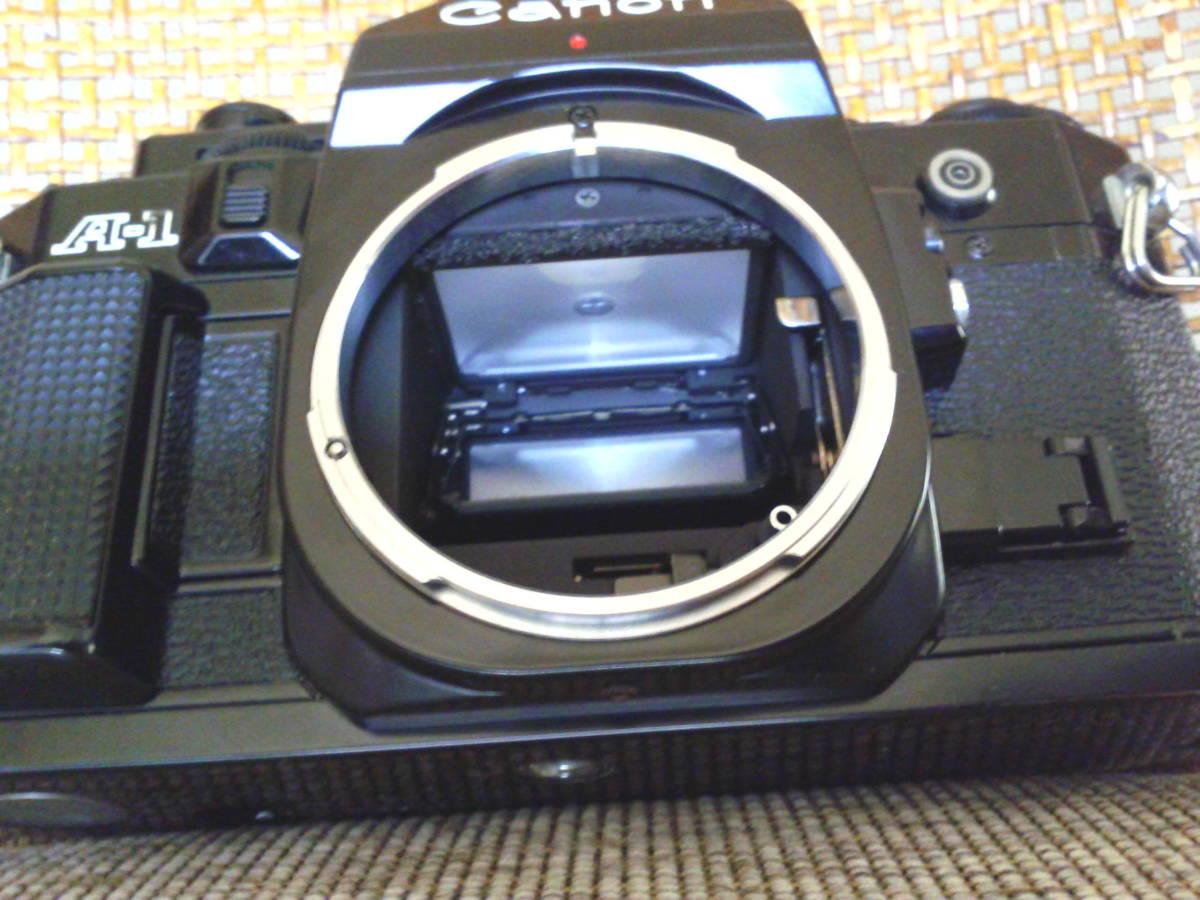 Canon A-1 BK 取扱説明書付き ジャンク品_画像3