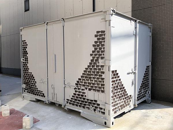 ■福岡発■美品■全塗装済み■中古 JRコンテナ 12フィート 物置 防災倉庫 バイクガレージ