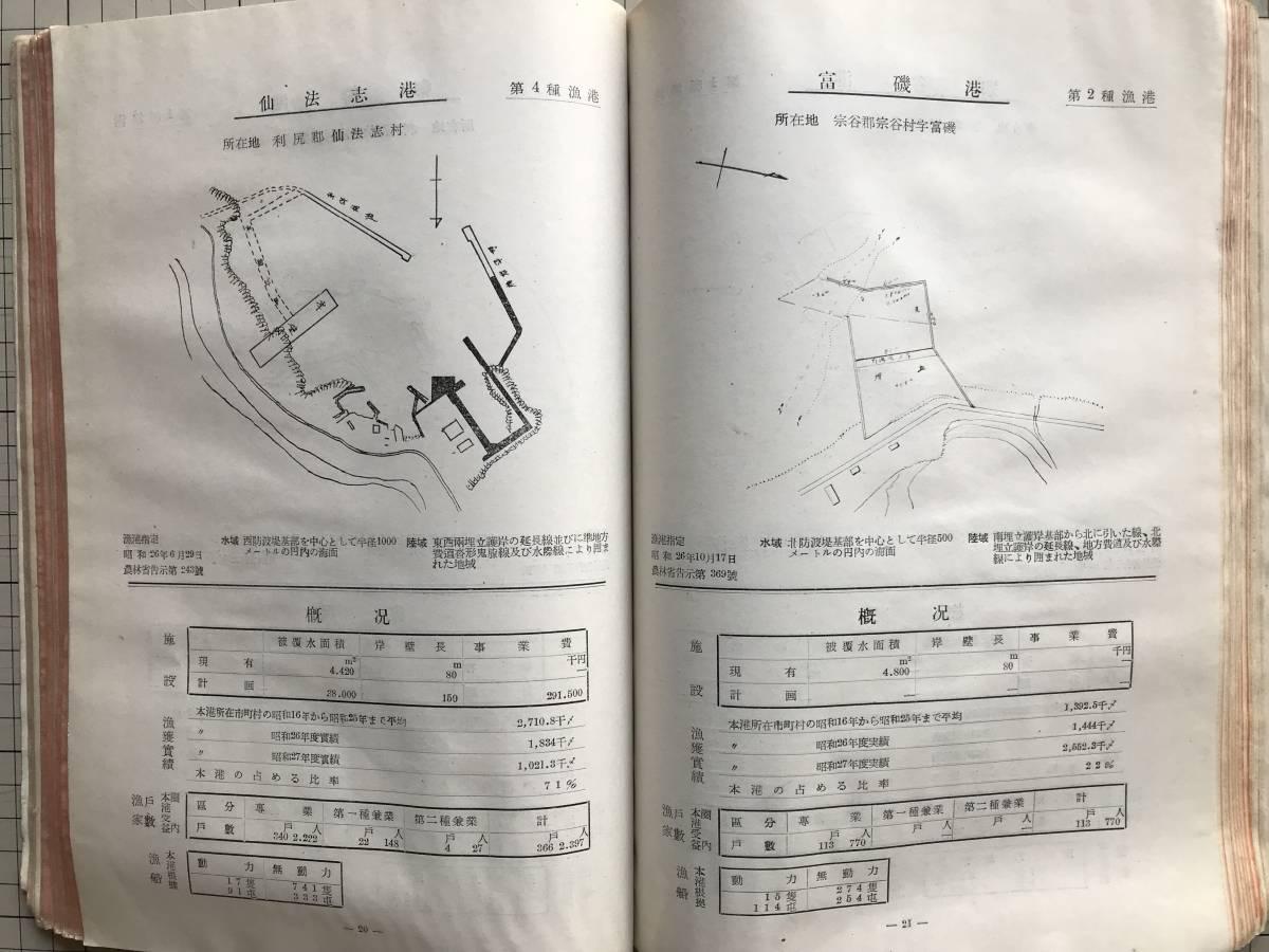 『北海道の漁港』北海道水産部水産課編集 北海道漁港協会 1954年刊 1755_画像9