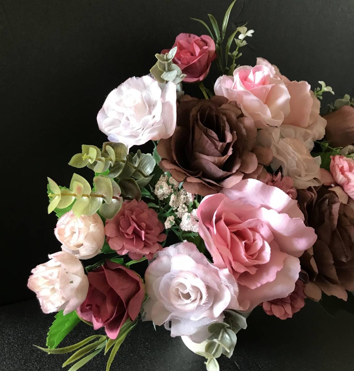 pretty flower����SALE�I�x�[�W���Ԋ�`���R���[�g�u���E���ƃ~���N�e�B�[�s���N���K�N�t�F�~�j���A�����W Image2