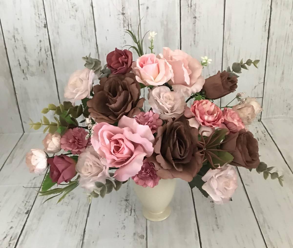 pretty flower����SALE�I�x�[�W���Ԋ�`���R���[�g�u���E���ƃ~���N�e�B�[�s���N���K�N�t�F�~�j���A�����W Image4