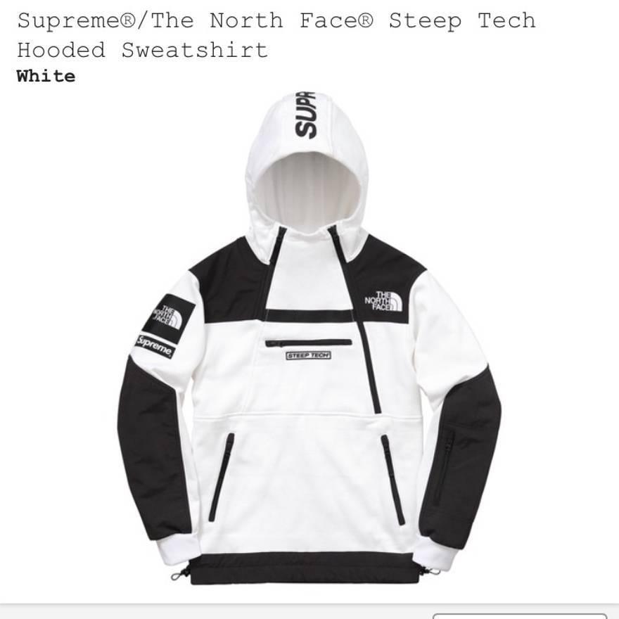 Supreme THE NORTH FACE シュプリーム ノースフェイス 16SS Steep Tech Hooded Sweatshir