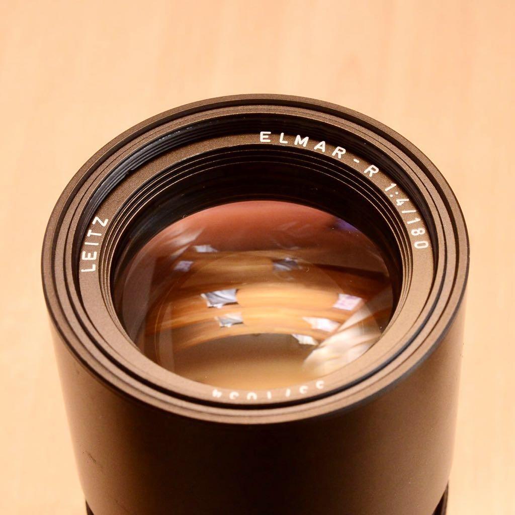Leica LEITZ ELMAR-R 180mm F4 中望遠レンズ 美品!!_画像2