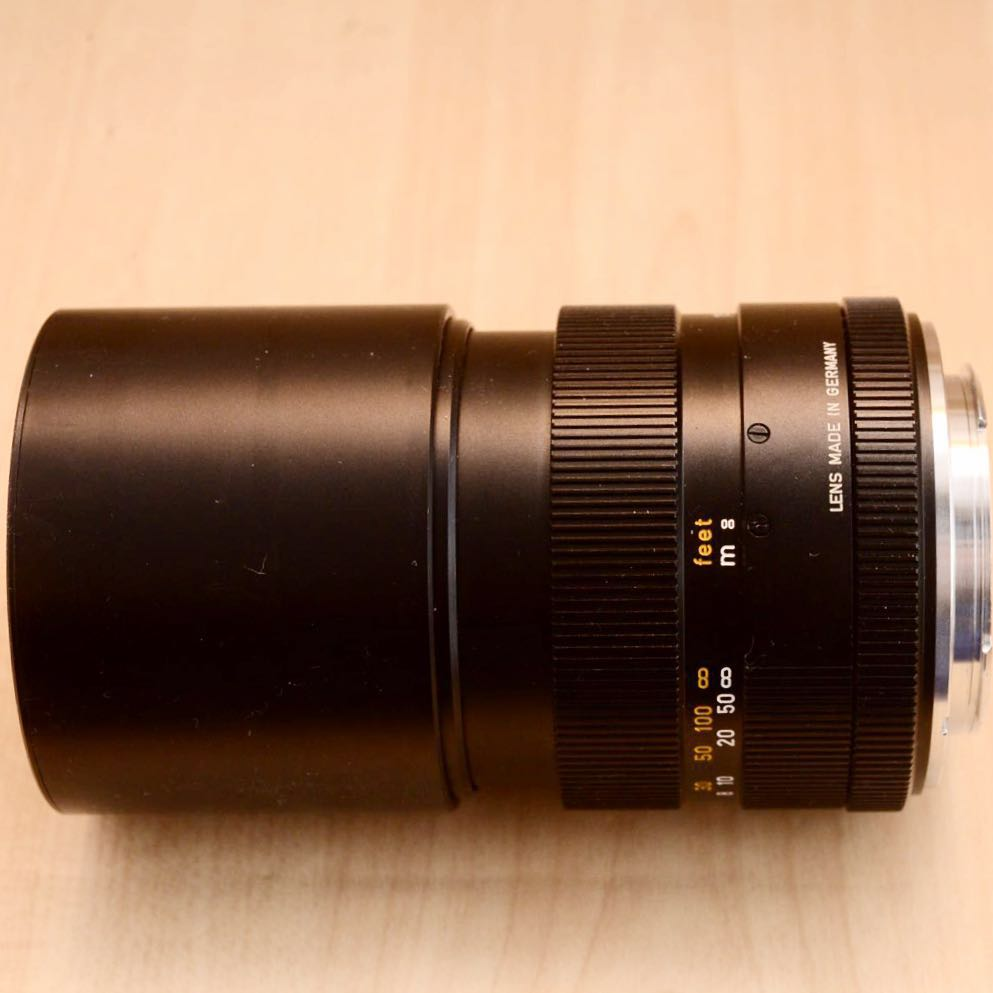 Leica LEITZ ELMAR-R 180mm F4 中望遠レンズ 美品!!_画像5