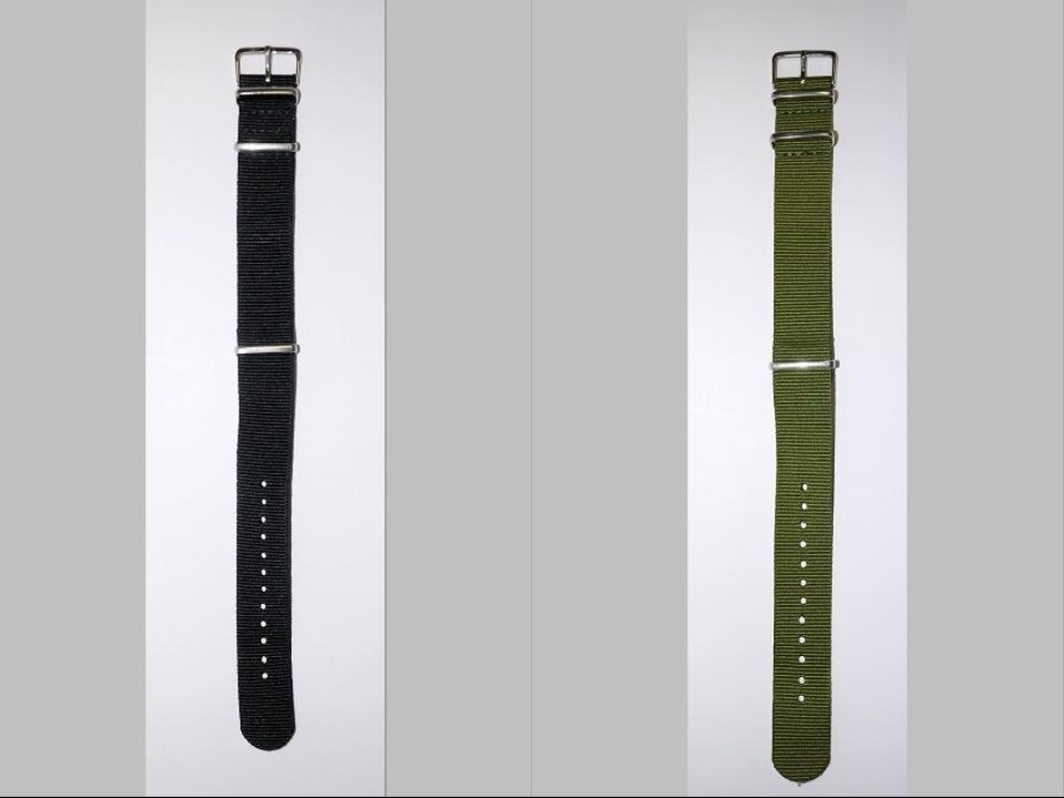 ◆未使新品 腕時計交換用 NATOタイプベルト20mm幅 8本セット -02_画像9