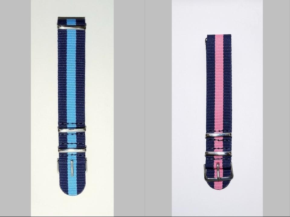 ◆未使新品 腕時計交換用 NATOタイプベルト20mm幅 10本セット -03