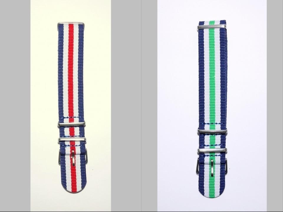 ◆未使新品 腕時計交換用 NATOタイプベルト20mm幅 10本セット -03_画像2