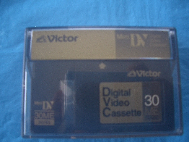 ★Victor  Mini Digital Video Cassette ビクター DVM30(30ME/30~45)_ ビクター DVM30(30ME/30~45)