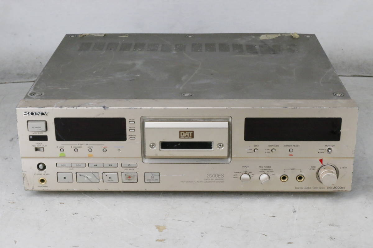 ■SONY Sony DAT deck DTC-2000ES junk