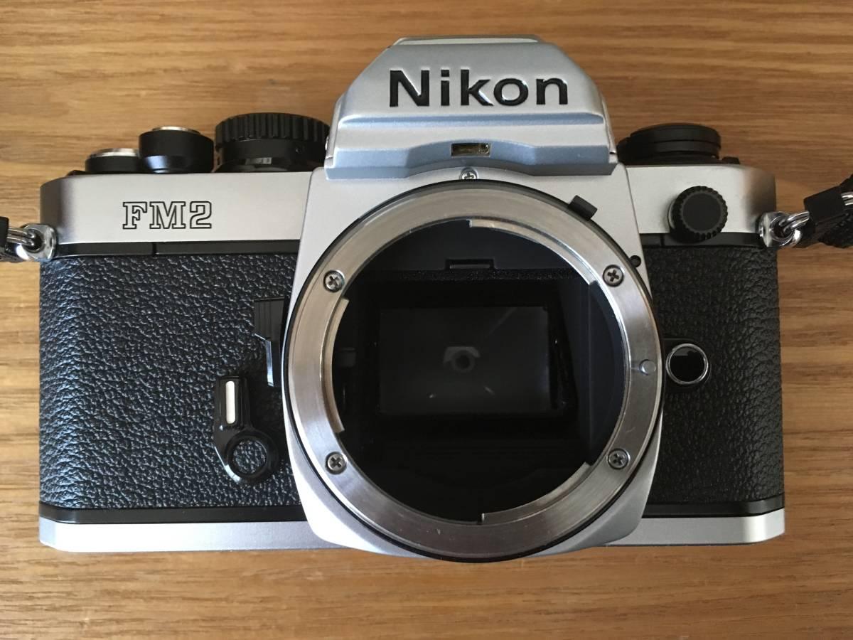 ♪♪ NIKON ニコン New F2 後期型 +レンズ4個(AF NIKKOR 50mm、NIKKOR 35-70mm、AF NIKKOR 28-105mm、AF NIKKOR 70-210mm)=ジャンク品扱い_画像2