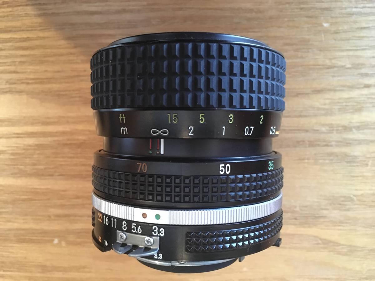 ♪♪ NIKON ニコン New F2 後期型 +レンズ4個(AF NIKKOR 50mm、NIKKOR 35-70mm、AF NIKKOR 28-105mm、AF NIKKOR 70-210mm)=ジャンク品扱い_画像6