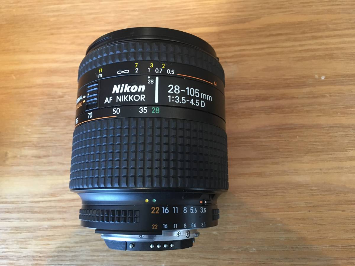 ♪♪ NIKON ニコン New F2 後期型 +レンズ4個(AF NIKKOR 50mm、NIKKOR 35-70mm、AF NIKKOR 28-105mm、AF NIKKOR 70-210mm)=ジャンク品扱い_画像7
