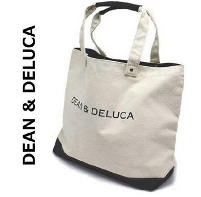 DEAN&DELUCA dean&deluca ディーン&デルーカ コットンキャンバス トートバッグ