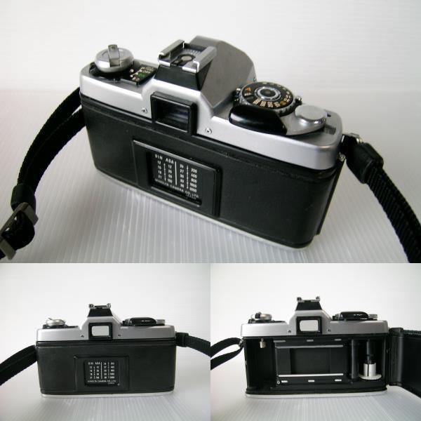 ミノルタ MINOLTA XG-E  35mmF2.8 単焦点ワイドレンズ付き_画像6