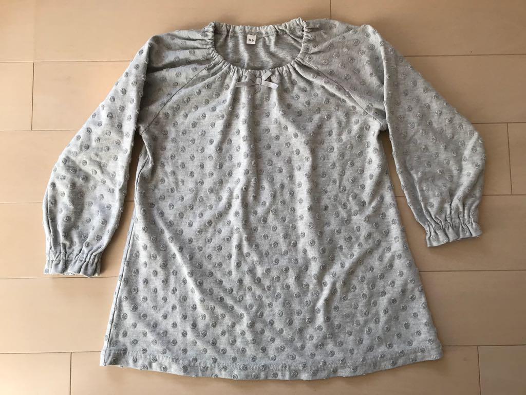 MUJI 無印良品 良品計画 パジャマ ルームウェア ナイトウェア 110
