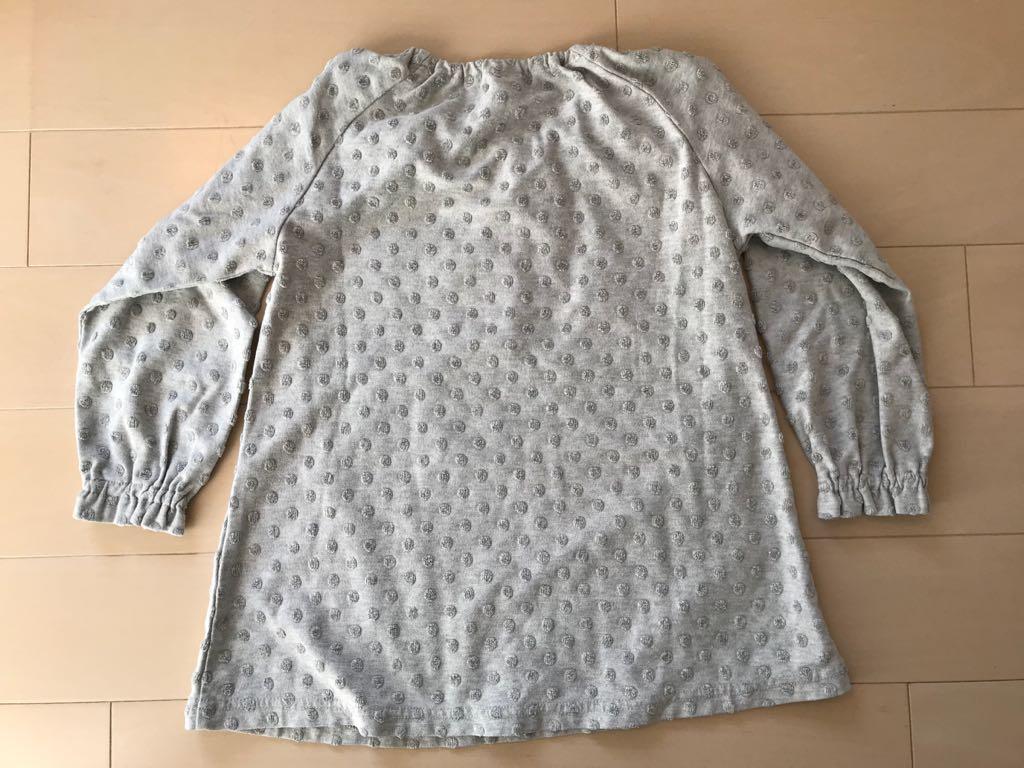 □ MUJI 無印良品 良品計画 七分袖 七分丈 パジャマ ルームウェア ナイトウェア 110_画像2