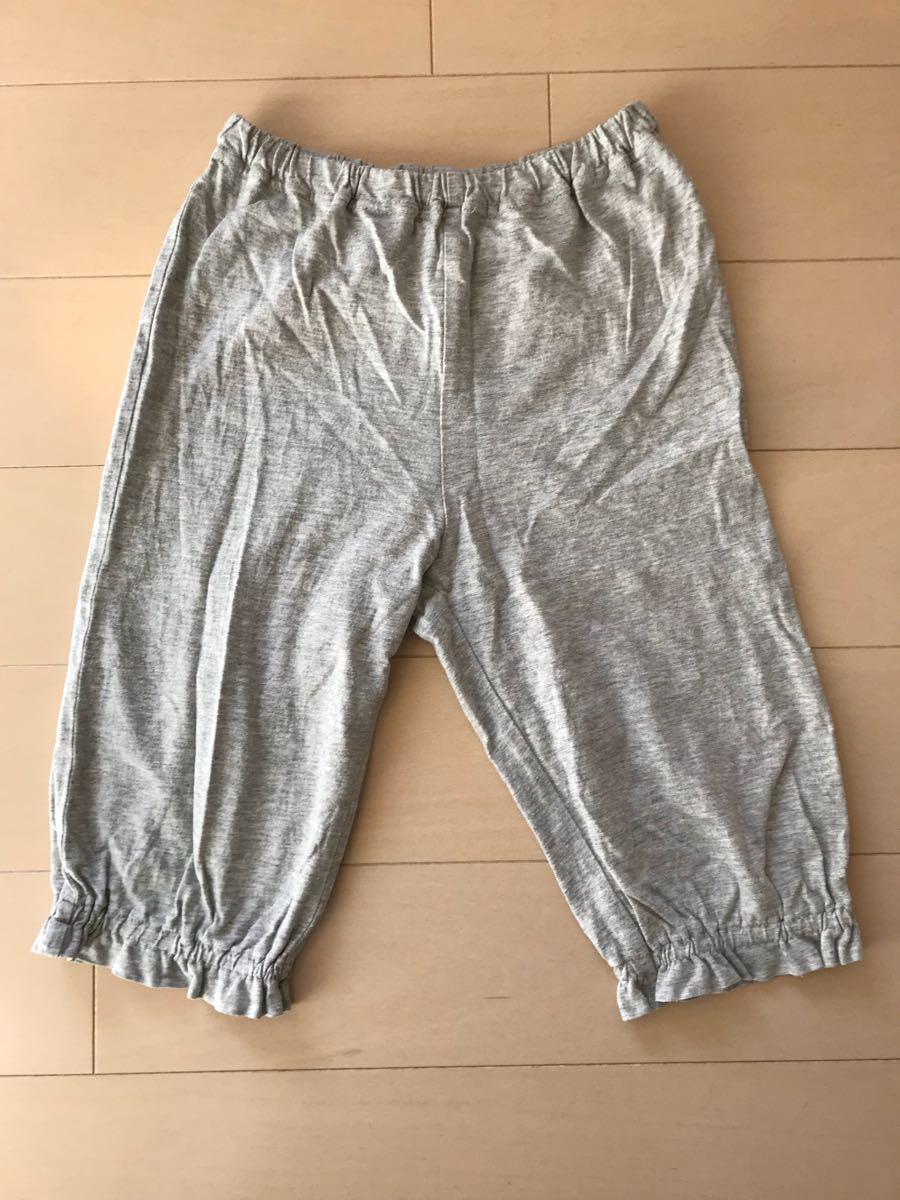 □ MUJI 無印良品 良品計画 七分袖 七分丈 パジャマ ルームウェア ナイトウェア 110_画像3
