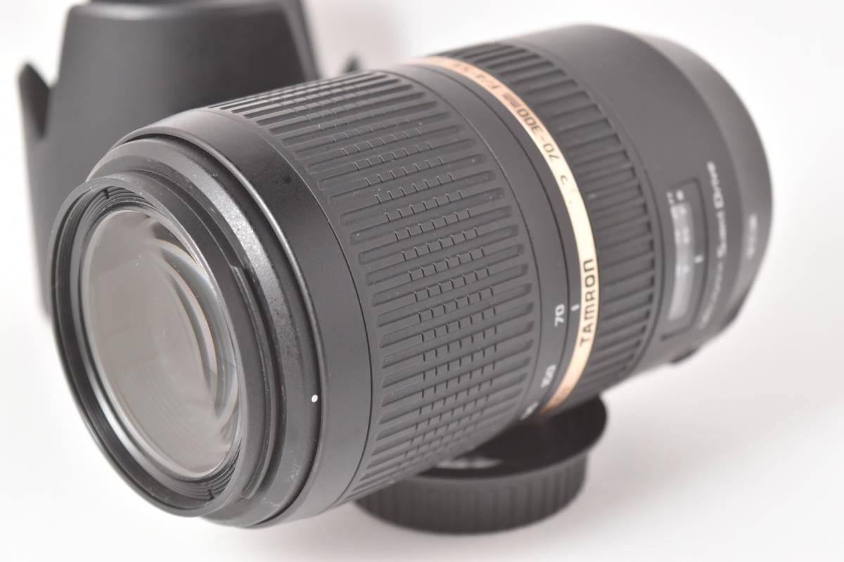 ★極上品★ タムロン TAMRON SP 70-300mm F4-5.6 VC USD CANON ★完動品★ #298