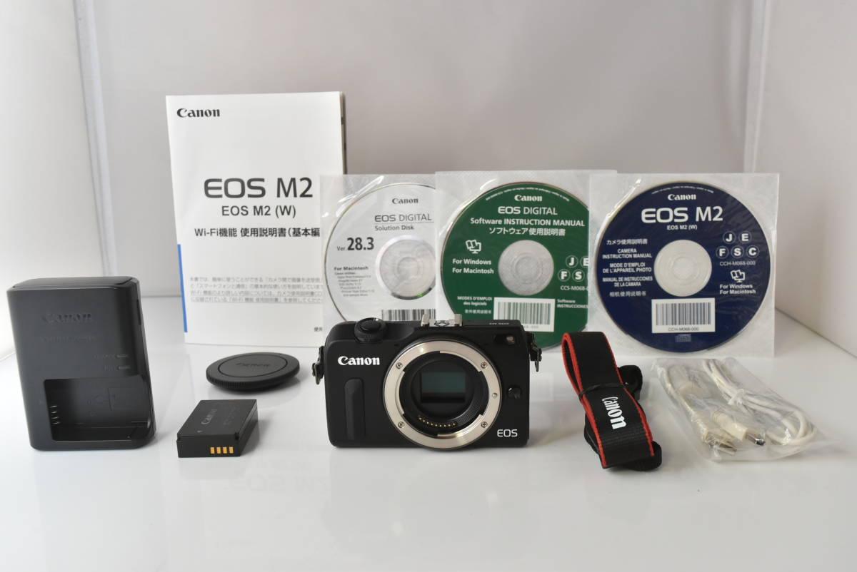 ★新品級★ キヤノン Canon EOS M2 ★充電器付★ #533