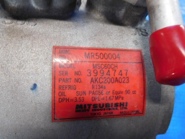 H42A H42V ミニカ H53A H58A パジェロミニ H81W EKワゴン コンプレッサー MR460140_画像2