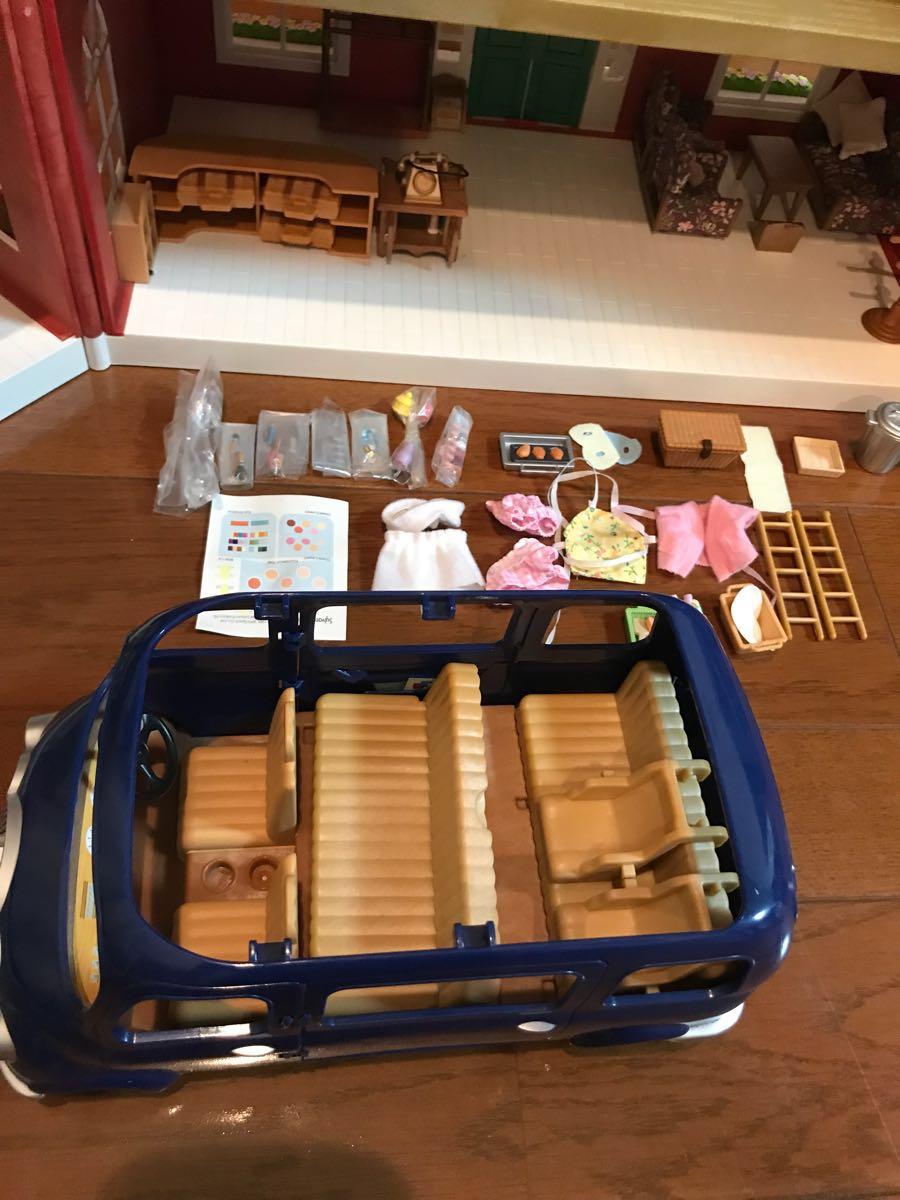 シルバニアファミリー リージェンシーホテル・グランドホテル 海外 UK レア 他、家具 人形 車 多数商品あり_画像7