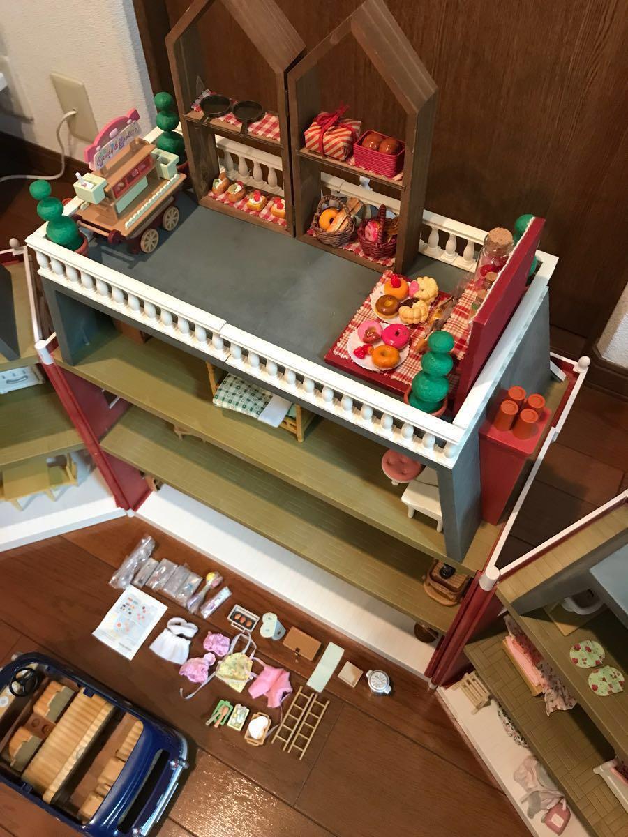 シルバニアファミリー リージェンシーホテル・グランドホテル 海外 UK レア 他、家具 人形 車 多数商品あり_画像3