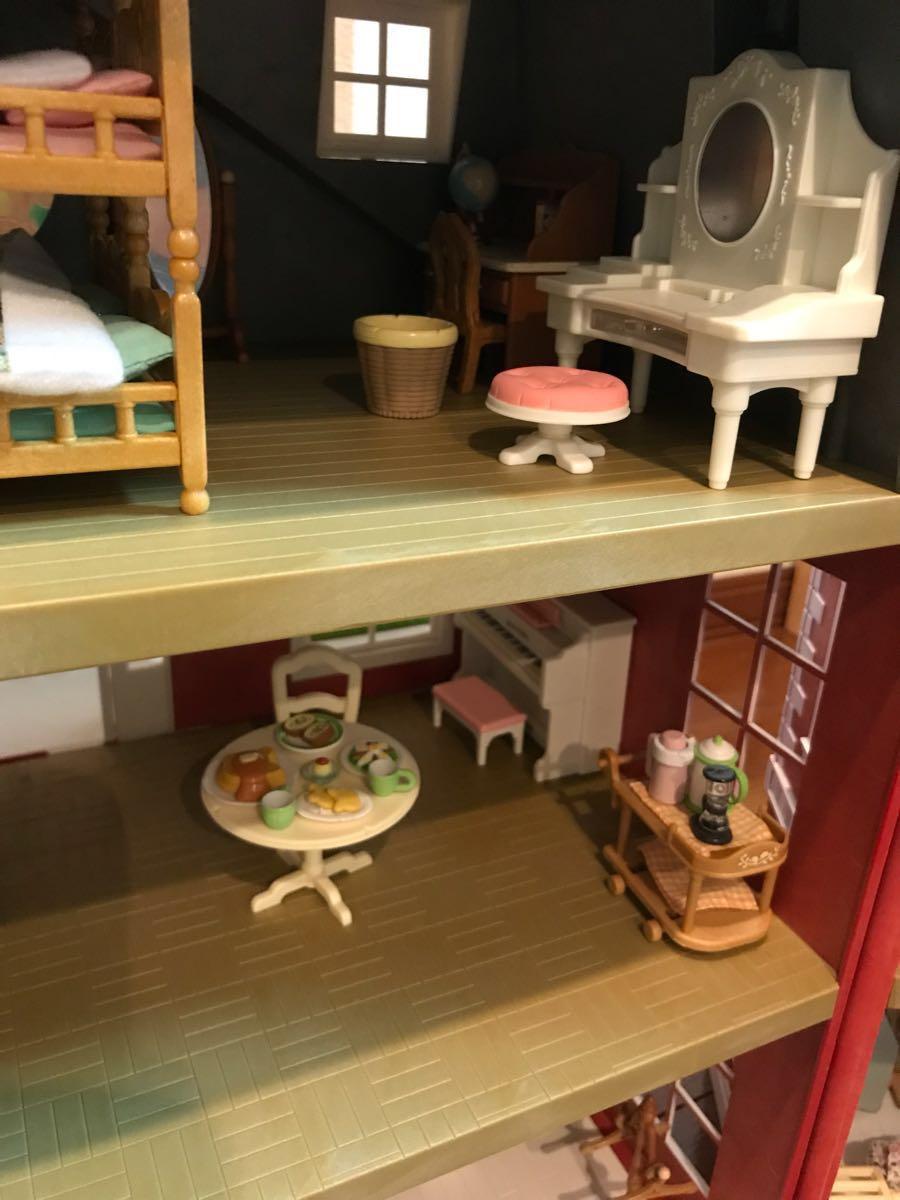 シルバニアファミリー リージェンシーホテル・グランドホテル 海外 UK レア 他、家具 人形 車 多数商品あり_画像9