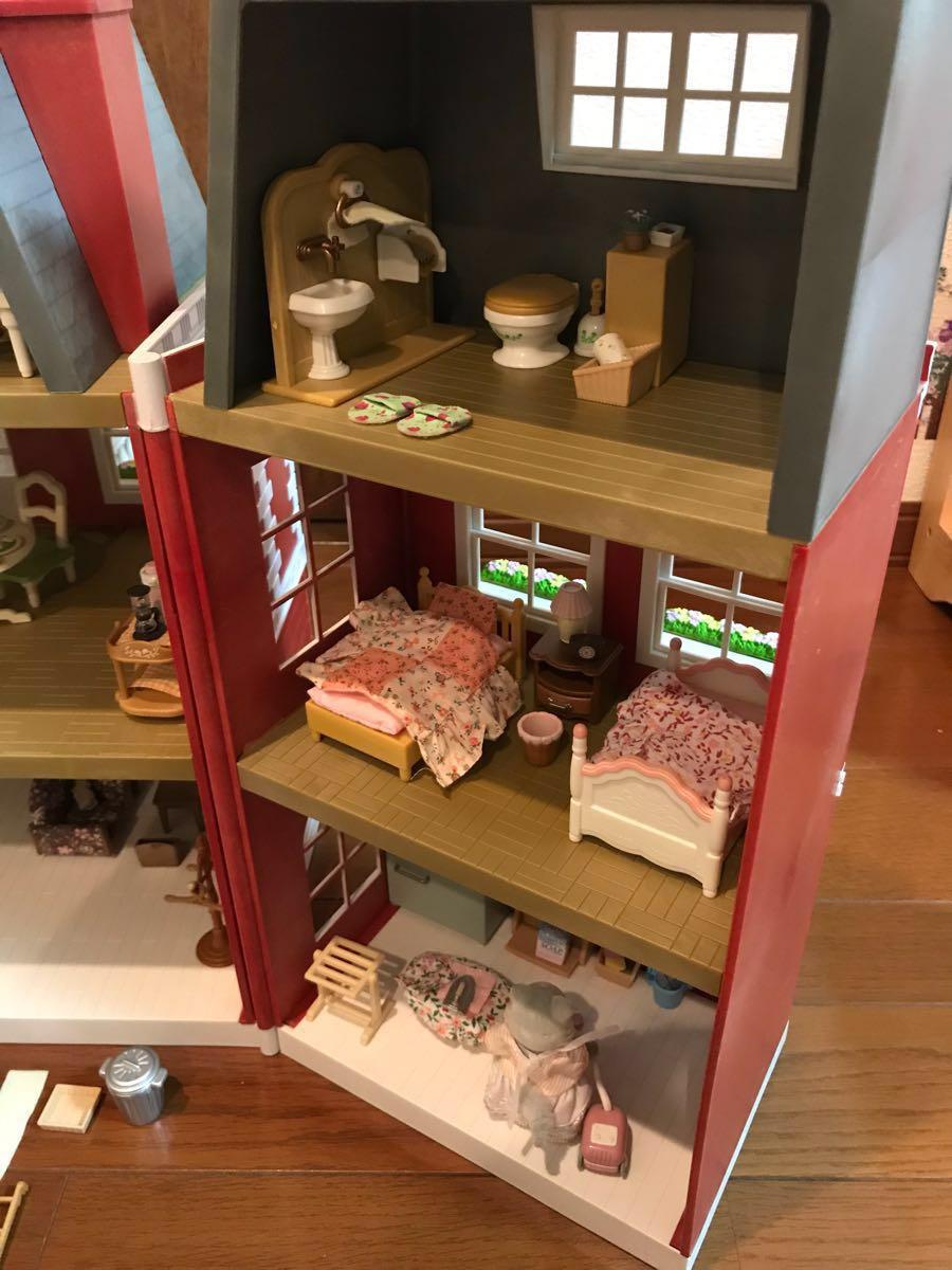 シルバニアファミリー リージェンシーホテル・グランドホテル 海外 UK レア 他、家具 人形 車 多数商品あり_画像6