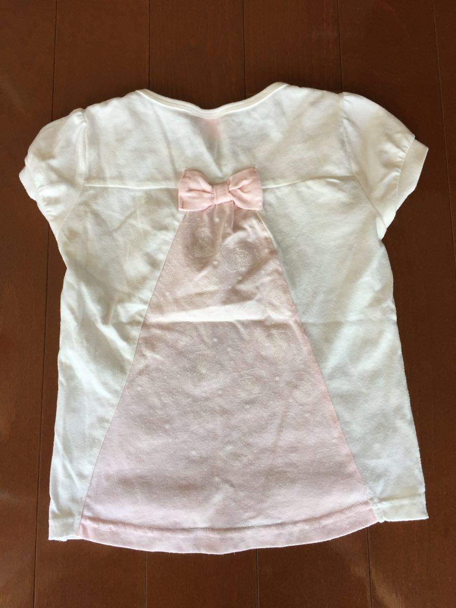 プリンセス 半袖Tシャツ 110センチ_画像2