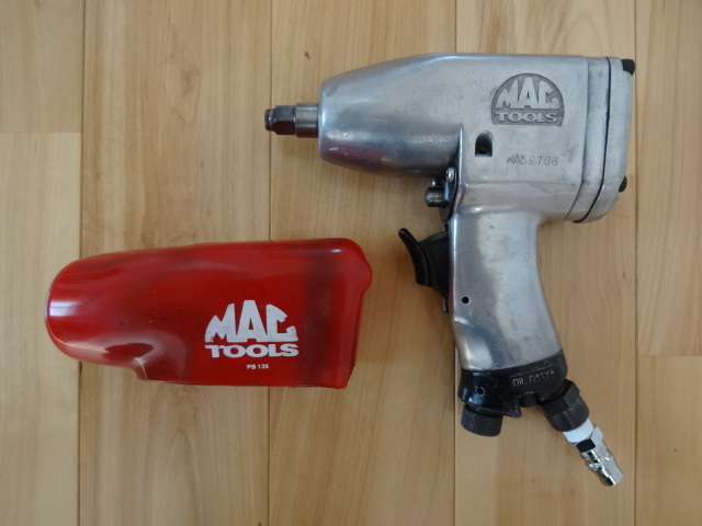 Mac tool zMAC TOOLS impact wrench 3/8 9 5mm AW160 boots