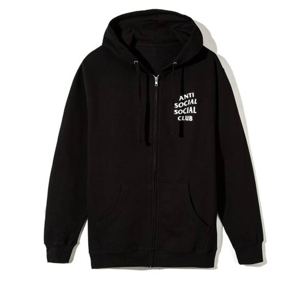 【新作即完売】 Anti Social Social Club 17ss Mind Games Zip Up Hoodie XL_画像2