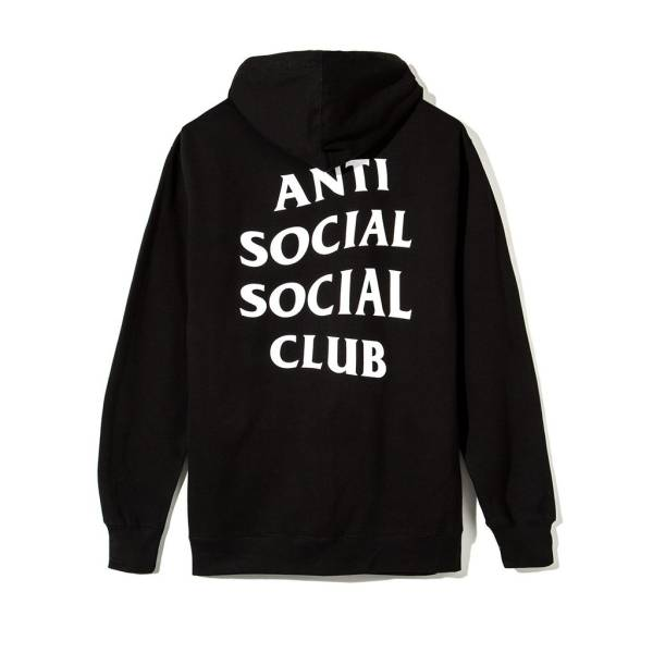 【新作即完売】 Anti Social Social Club 17ss Mind Games Zip Up Hoodie XL