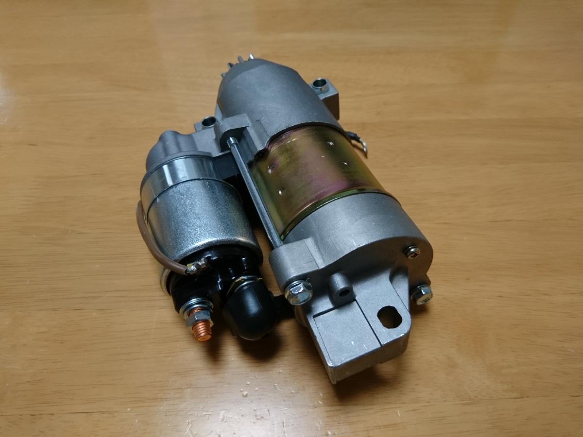 「ヤマハ マーキュリー 船外機 セルモーター スターター 75-115HP 68V-81800 881368T (0132)」の画像3