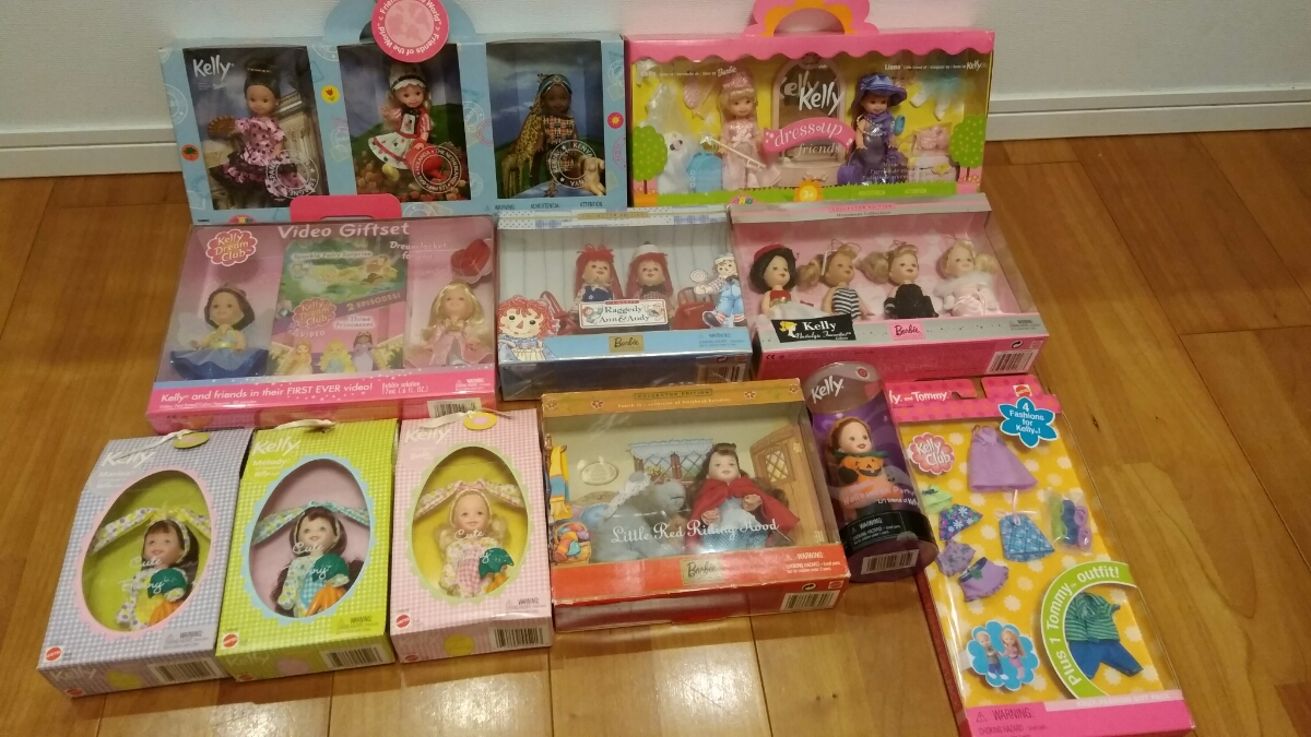 Barbie kelly Tommy COLLECTOR EDITION マテル社 11箱