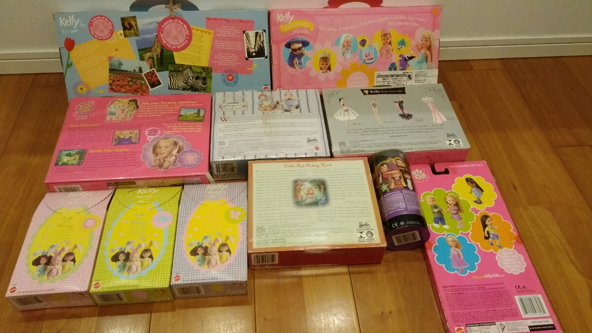 Barbie kelly Tommy COLLECTOR EDITION マテル社 11箱_画像10