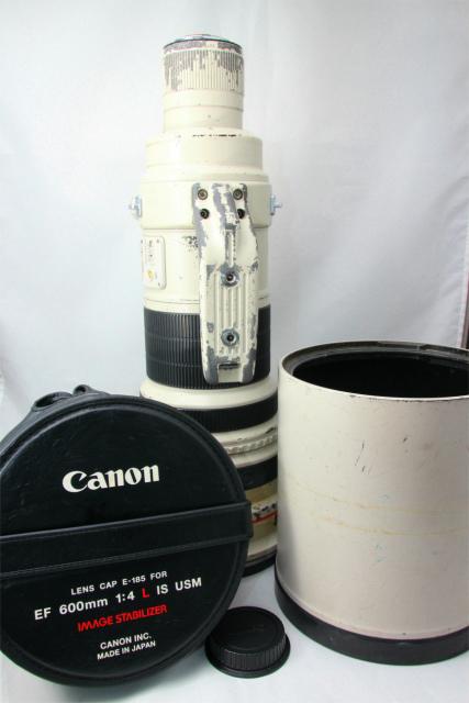 純正ケース付☆Canon キャノン EF 600mm F4LIS USM 望遠レンズ 単焦点 付属多数 お探しの方必見♪