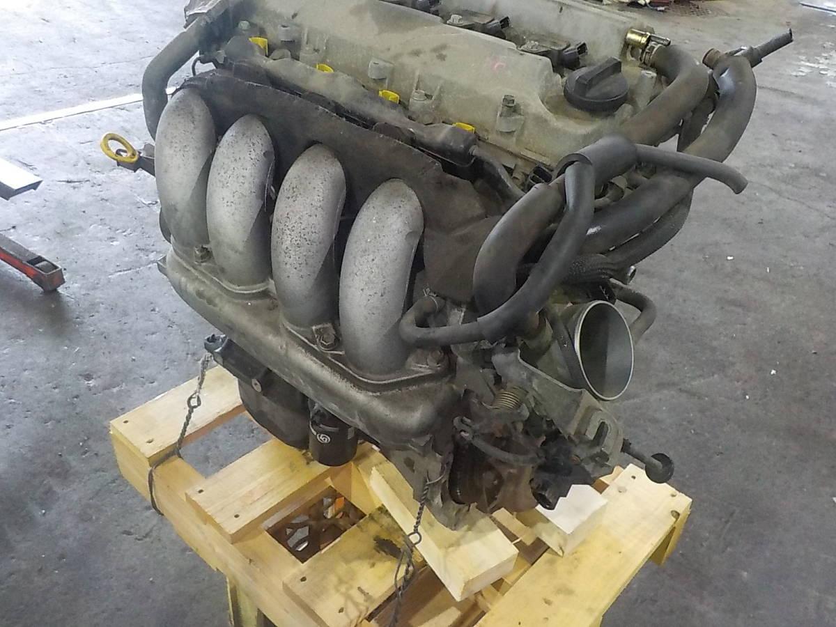 180208002220100 フィールダー ZZE123G エンジン_画像4