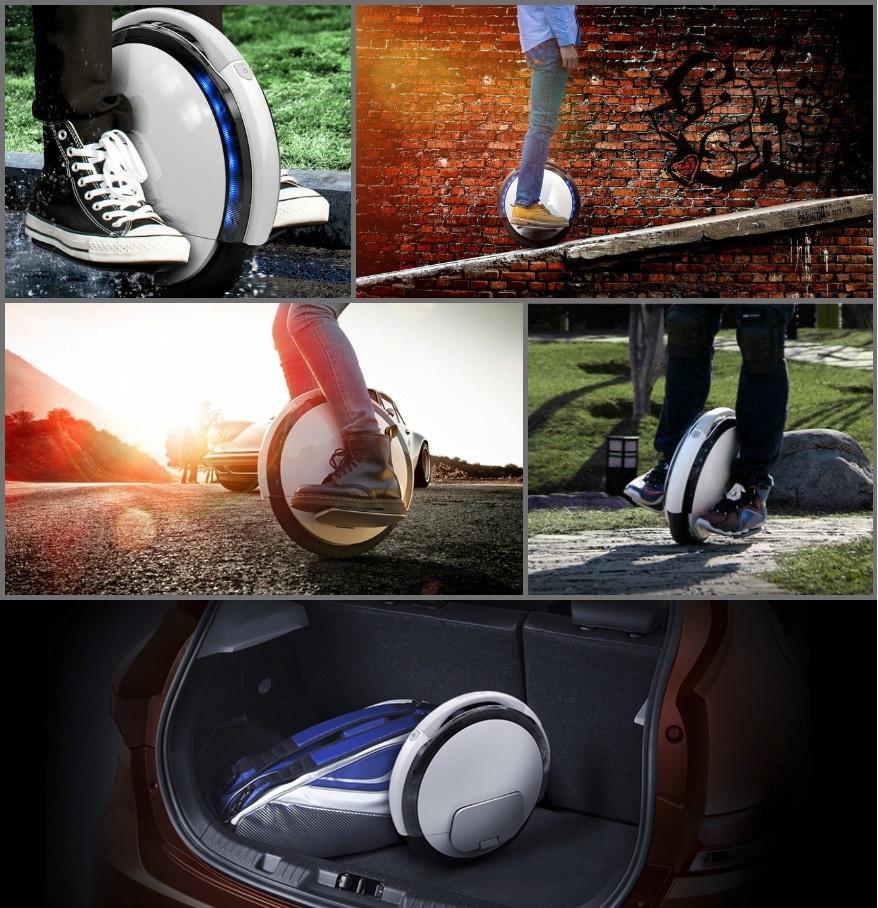 【2018増強版・バッテリー2倍】Ninebot One A1 ナインボット ダブルバッテリー増強版 電動一輪車 セグウェイ_画像6