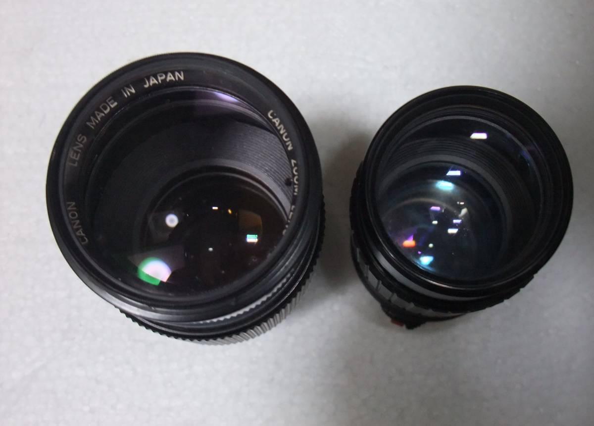 CANON / キャノン A-1 レンズ2本付 70-210mm 1:4 70-210mm 1:4.5 フィルムカメラ 一眼レフ_画像7