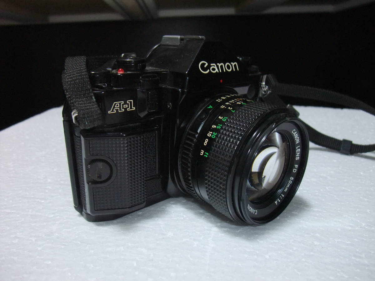 CANON / キャノン A-1 レンズ2本付 70-210mm 1:4 70-210mm 1:4.5 フィルムカメラ 一眼レフ_画像3