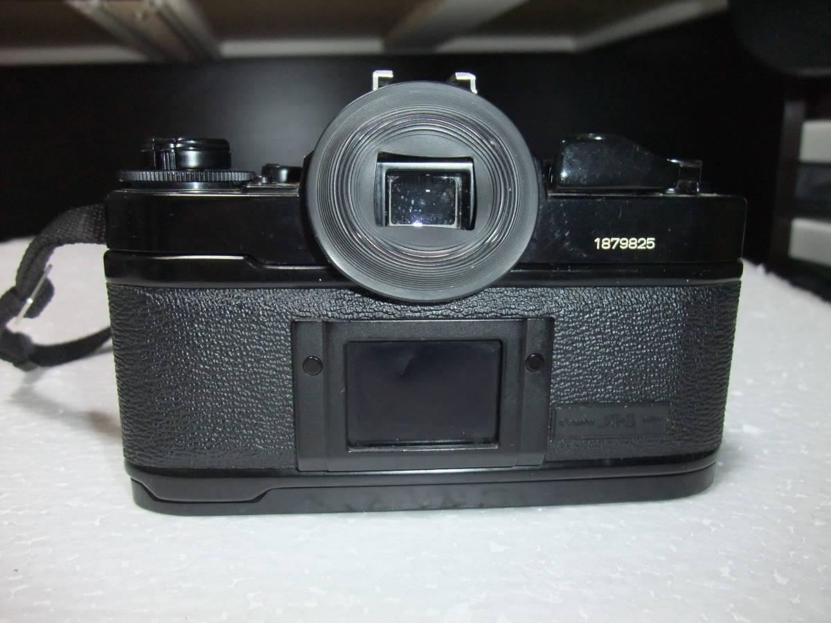 CANON / キャノン A-1 レンズ2本付 70-210mm 1:4 70-210mm 1:4.5 フィルムカメラ 一眼レフ_画像6