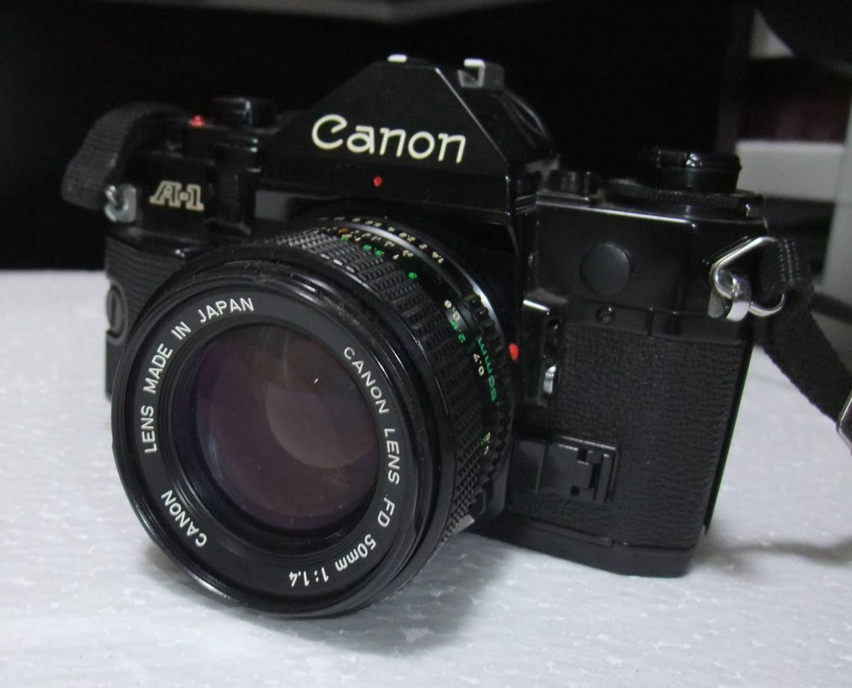 CANON / キャノン A-1 レンズ2本付 70-210mm 1:4 70-210mm 1:4.5 フィルムカメラ 一眼レフ_画像2