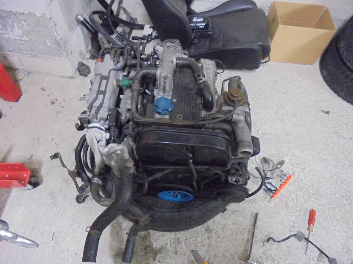 EA11R カプチーノ エンジン タービン付き F6Aターボ