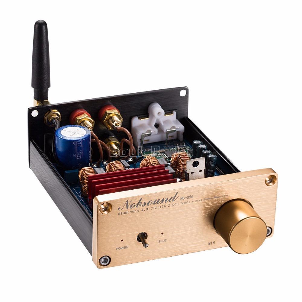 2018新Nobsound 100ワットのBluetooth 4.0ミニハイファイTPA3116パワーアンプデジタルオーディオステレオアンプ_画像3