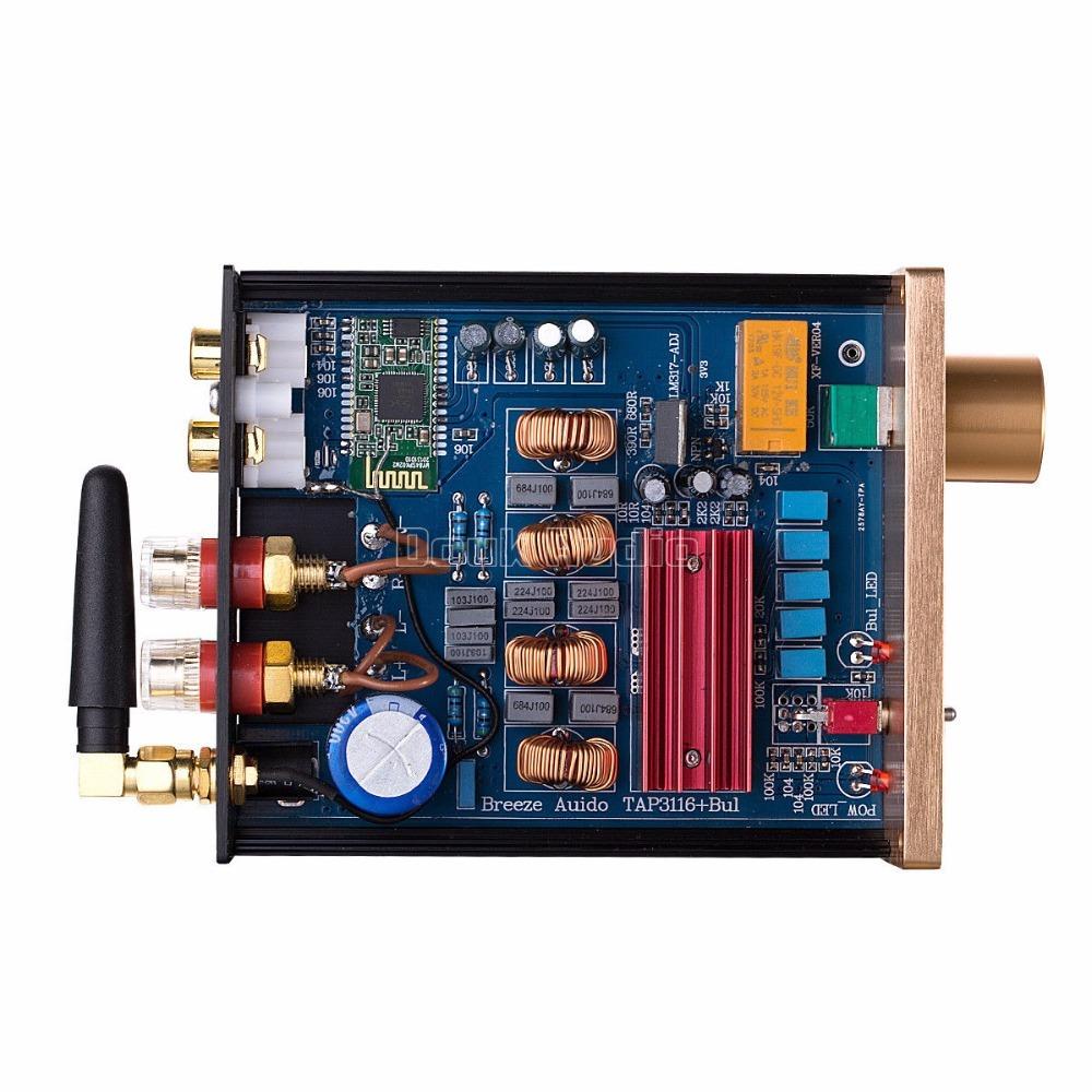 2018新Nobsound 100ワットのBluetooth 4.0ミニハイファイTPA3116パワーアンプデジタルオーディオステレオアンプ_画像5