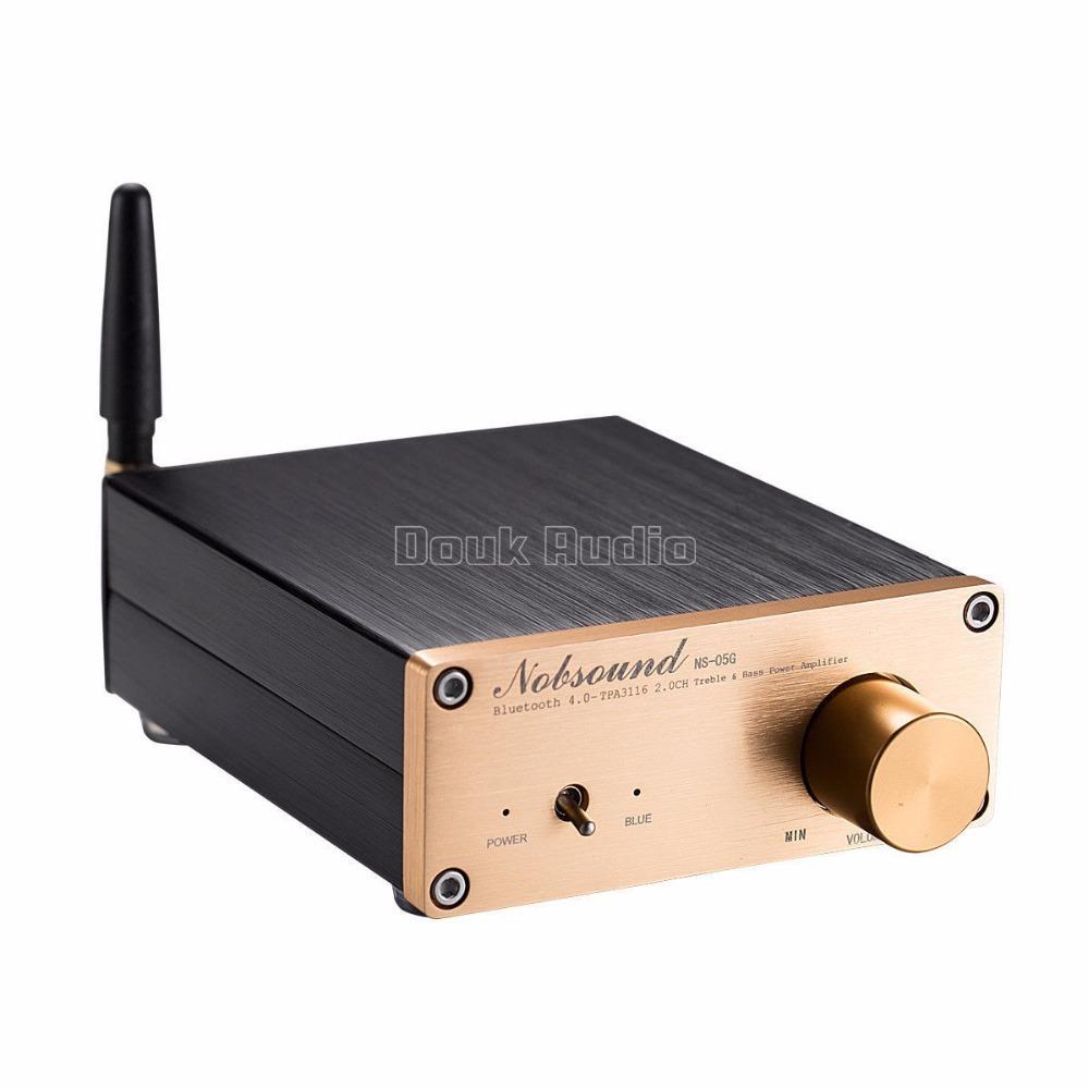2018新Nobsound 100ワットのBluetooth 4.0ミニハイファイTPA3116パワーアンプデジタルオーディオステレオアンプ_画像6